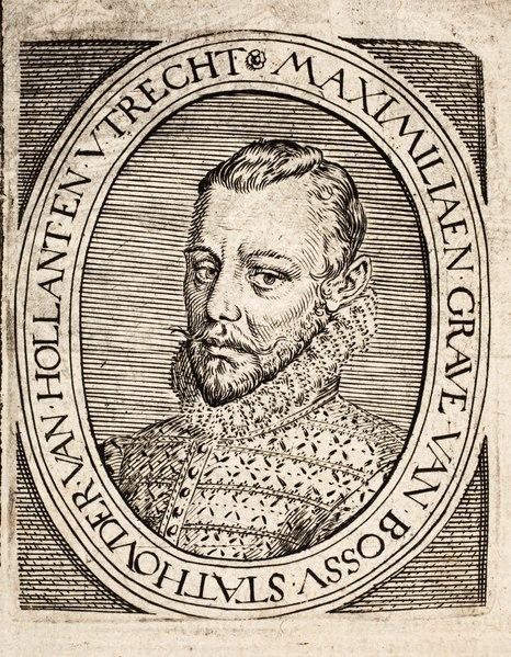 Pieter Christiaansz Bor - Nederlantsche oorloghen, beroerten, ende borgerlijcke oneenicheyden - 1621 - Maximilien de Hénin-Liétard, Count of Boussu (Bossu) - PPL-9173