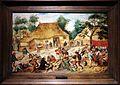 Pieter bruegel il giovane, banchetto nuziale davanti a una fattoria, 1620-25 ca. 01.jpg