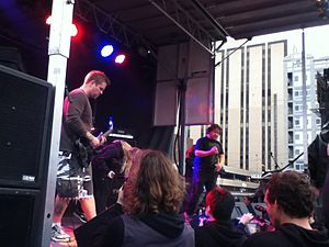 Maryland Deathfest - Pig Destroyer performing at Maryland Deathfest 2013