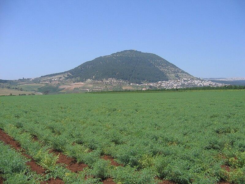 הר תבור- צילום ממזרח