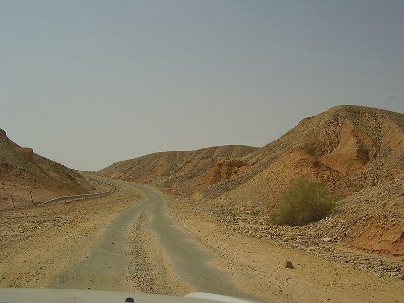 דרך השלום בערבה
