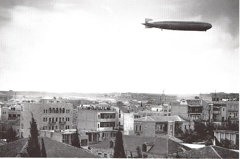 ביקור הצפלין מעל ירושלים