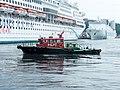 Pilot Boat Yung An nearby Superstar Aquarius 20140518.jpg