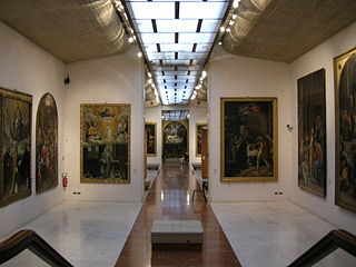 Art Gallery in Via Belle Arti , Bologna Italy