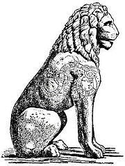 In Athens, Greece, Swedish Vikings wrote a runic inscription on the Piraeus Lion.
