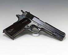 M1911 wikipdia a enciclopdia livre uma pistola modelo de 1911 do governo nmero de srie 94854 fabricada em 1914 fandeluxe Choice Image
