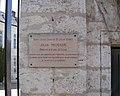 Plaque Jean Moulin de la préfecture d'Eure-et-Loir, Chartres (France).JPG