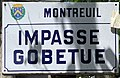 Plaque impasse Gobetue Montreuil Seine St Denis 1.jpg
