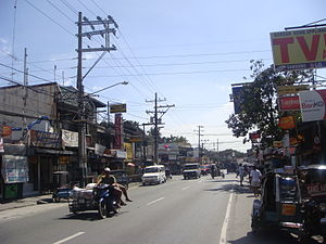 Plaridel, Bulacan - Image: Plaridelroadjf