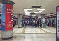 Platform for L1 of Dawanglu Station (20160428185225).jpg