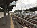 Platform of Orio Station (Chikuho Main Line) 6.jpg