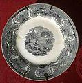 Plato de cerámica de la Fábrica de La Amistad. Cartagena. S XIX.jpg