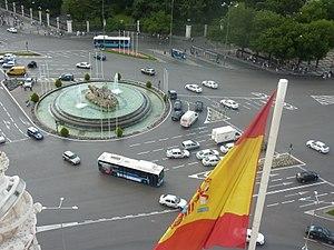 Plaza de Cibeles - Image: Plaza de Cibeles (Madrid)