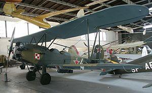 "Polikarpov Po-2 - U-2LNB night attack aircraft of the Polish 2nd Night Bomber Regiment ""Kraków"" (in Polish Aviation Museum)"