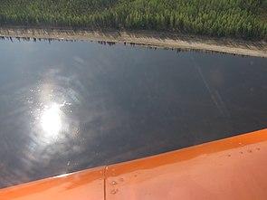 Вид на підкам яну тунгуску з