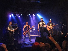 Poets of the Fall in Berlijn in 2008