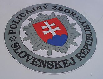 Law enforcement in Slovakia - Logo of the Slovak Police Force