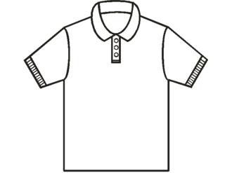Polo shirt - Polo shirt outline