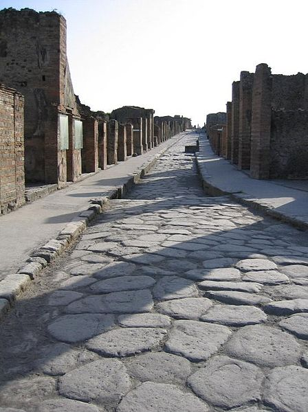 Roman Road in Pompei