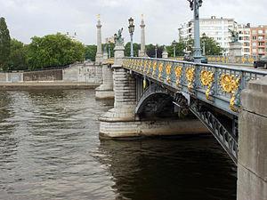 Lutych: Pont de Fragnée
