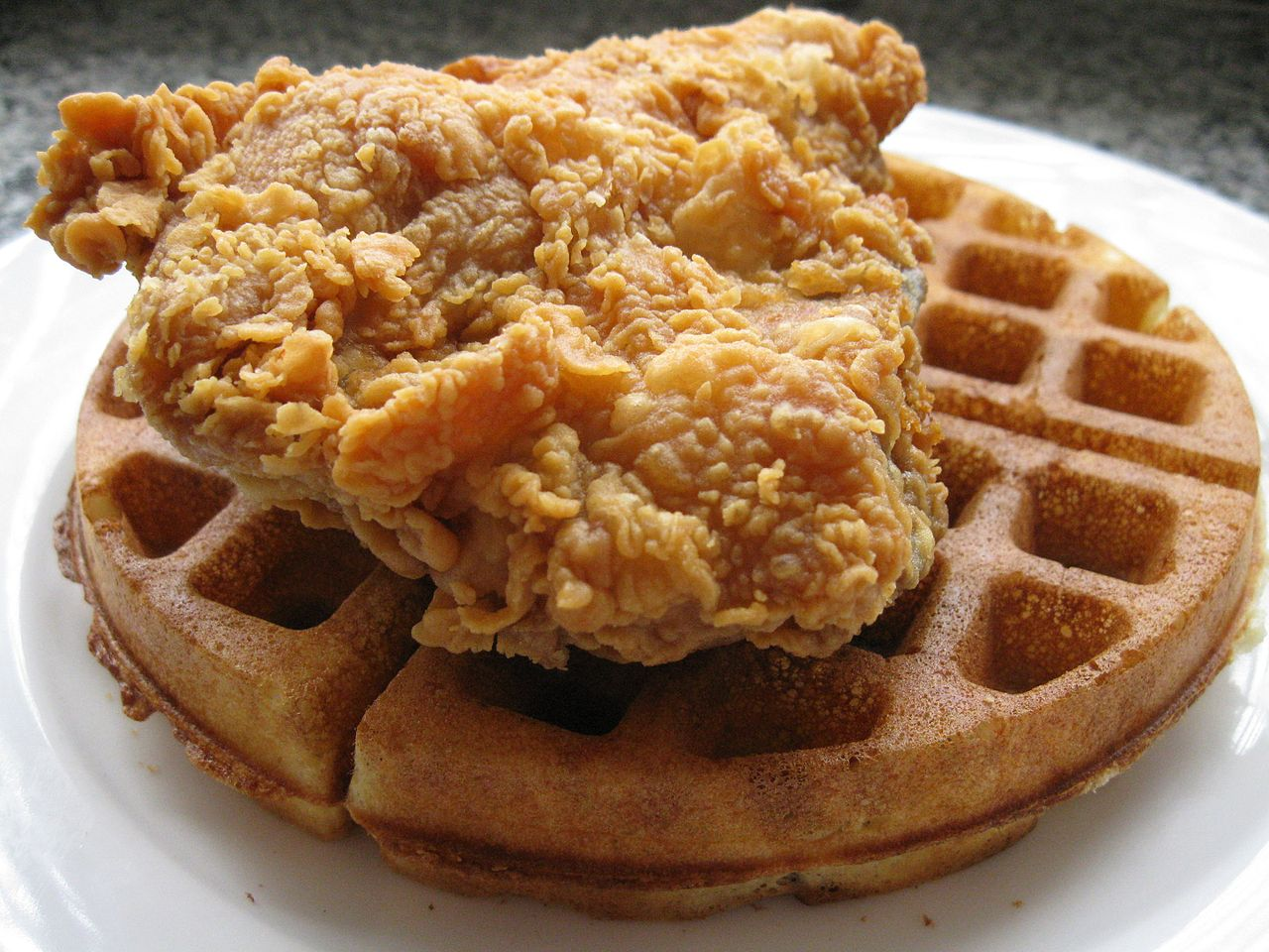 Chicken And Waffles Food Truck