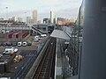 Poplar DLR stn Beckton Woolwich eastbound platform high eastbound.JPG