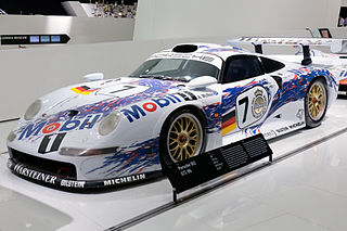 Grand Touring race car manufactured by German automobile manufacturer Porsche
