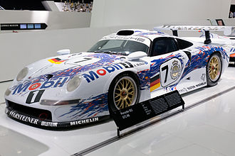 Group GT1 - Porsche 911 GT1 (993) which would mark the beginning of the GT1 Prototype era