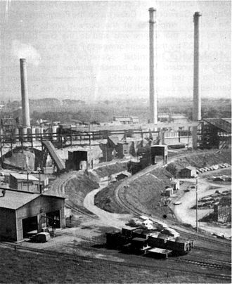 Portland Cement Works Precinct - Portland Cement Works in 1950.
