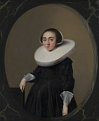 Portrait of Anna Hooftman (1613-after 1645)