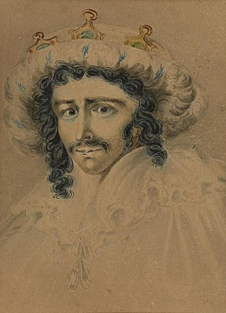 Edmund Kean - Portrait of Edmund Kean as Richard III