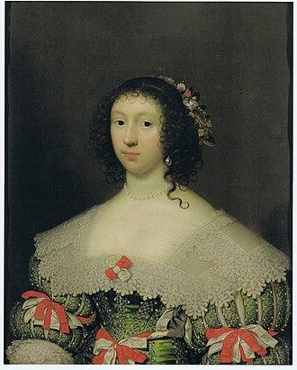 Cornelius Johnson (artist) - Elizabeth Campion (1614-1673), 1631.