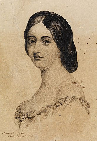 Harriet Morgan - Image: Portrait of Harriet Scott (cropped)