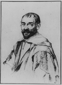 Portrait of Pierre Gassendi by Claude Mellan.png