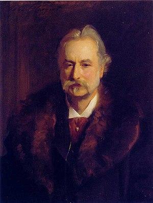Sir George Lewis, 1st Baronet - Portrait of Sir George Lewis, John Singer Sargent, 1896