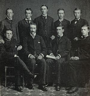 The Daily Princetonian - Pictured with the board of editors of the Princetonian in 1878, Woodrow Wilson (seated, second from right) served as managing editor