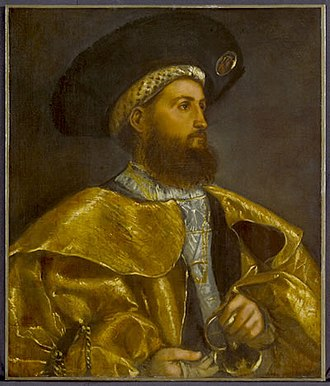 Romanino - Image: Portrait of a gentleman by Girolamo Romani