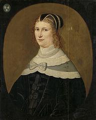 Portrait of a Woman, called Theodora de Visscher, Wife of Jacob Rijswijk