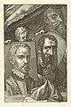 Portretten van Pieter Brueghel, Joachim Beuckelaer en Hubert Goltzius, RP-P-1907-4266.jpg