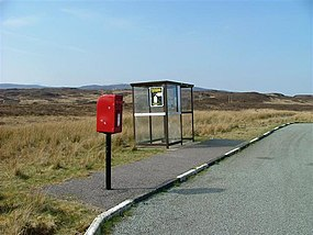Postbox and Bus Shelter - geograph.org.uk - 401055.jpg