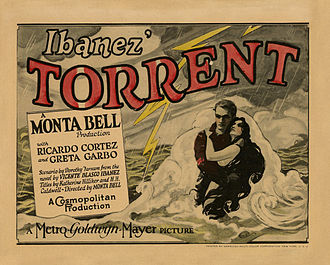 Torrent (1926 film) - Theatrical release poster