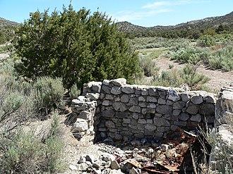 Potosi Mining District - Ruins near Potosi Spring