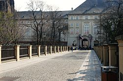 Prague Castle Prasny most.jpg