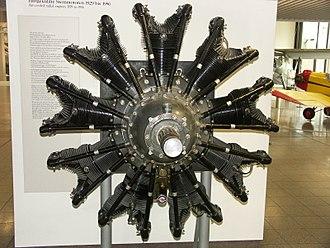 Pratt & Whitney R-1690 Hornet - Image: Pratt & Whitney R 1690 Hornet jaypee
