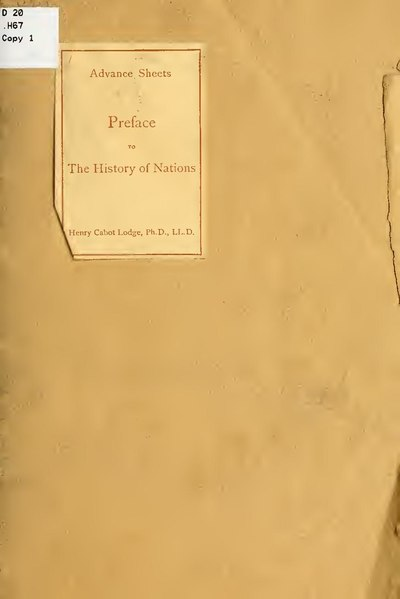 File:Preface to The history of nations.. (IA prefacetohistory00lodg).pdf