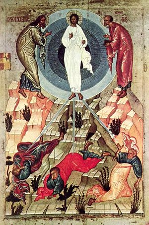 Icon of the Transfiguration (15th century, Nov...