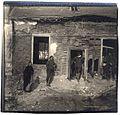 Presbytère de Grattepanche amoché par une bombe d'avion. - Fonds Berthelé - 49Fi1869.jpg