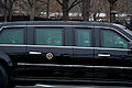 President Barack H. Obama rides in a limousine from the White House to the Capitol before his inauguration in Washington, D.C 130121-A-AO884-024.jpg