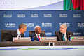 President Obama Chats With Mozambique's President Guebuza and Zambia's Vice President Scott.jpg