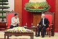 President Rodrigo Duterte with Nguyen Phu Trong.jpg